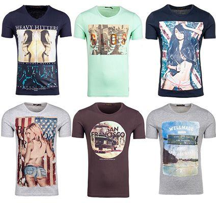 Glo Story Shirts Glo Story Shirts für Herren in verschiedenen Motiven für je 9,95€