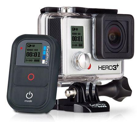 GoPro HERO3+ Black Edition mit Wi Fi Remote für 265€   refurbished!