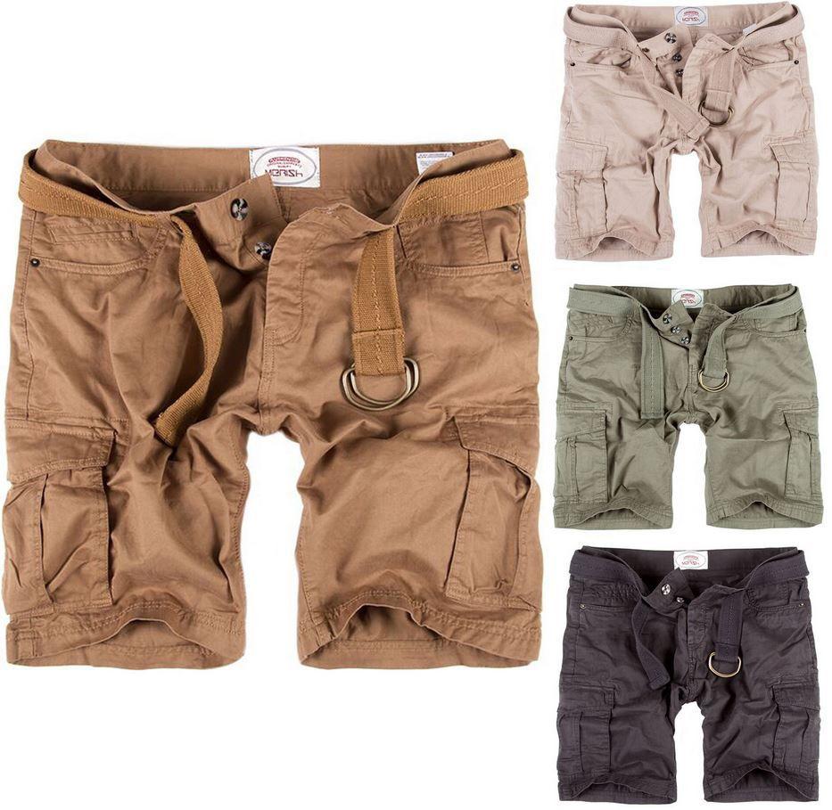 Herren Shorts Merish Modell No.: 65   Herren Bermudashorts mit Gürtel für je 17,99€