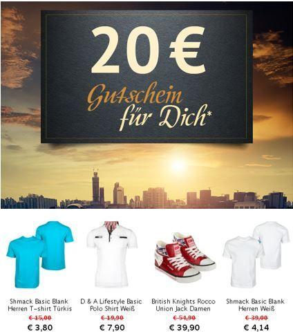Hoodboyz 20€ Gutschein Hoodboyz mit 20€ Gutscheincode ab 40€ Einkauf   Update