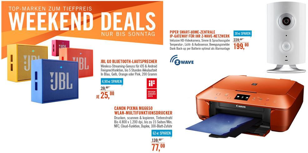 JBL GO   Ultraportabler Bluetooth Lautsprecher für 25€ bei den Cyberport Weekend Deals   Update