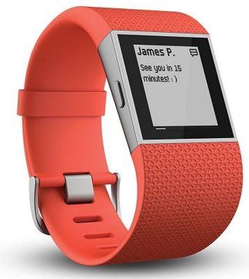 Fitbit Surge   activity tracker mit GPS und Herzfrequenz Erfassung für 139,90€