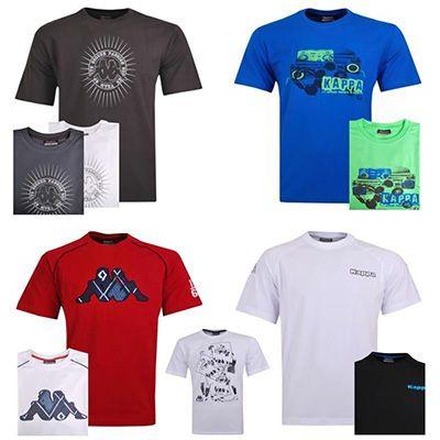 Kappa Herren T Shirts in verschiedenen Farben für je 9,99€