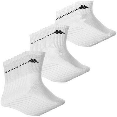 Kappa Socken Kappa Damen und Herren Sportsocken im 9er Set für 9,49€ (statt 16€)