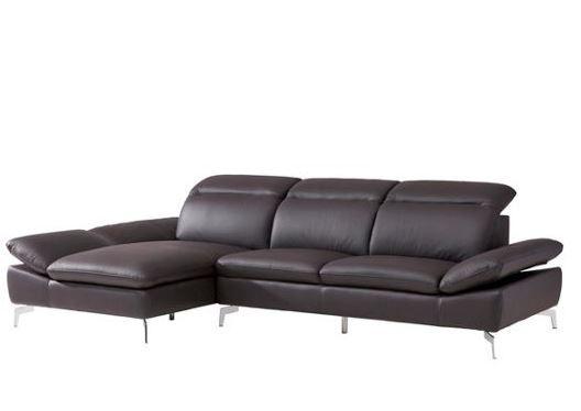 Le der sofa