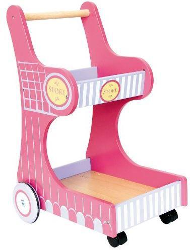 Legler Einkaufswagen Isa Legler Isa   schiebarer Holz Einkaufswagen für Kids ab 16,73€