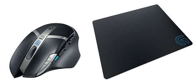 Logitech G602 wireless Gaming Maus + Logitech G440 Mauspad für 52,98€