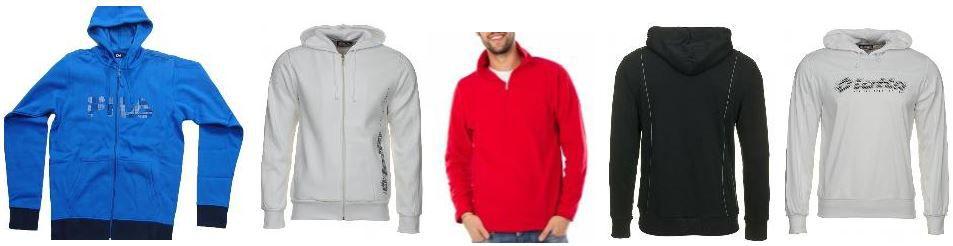 LOTTO und FILA Herren Hoodies im Sale ab 8,99€