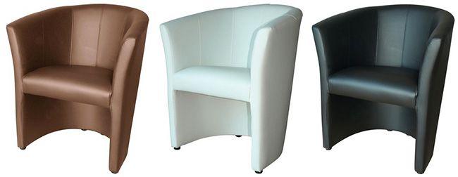 SB Möbel Boss Loungesessel aus Kunstleder in verschiedenen Farben ab je 59€