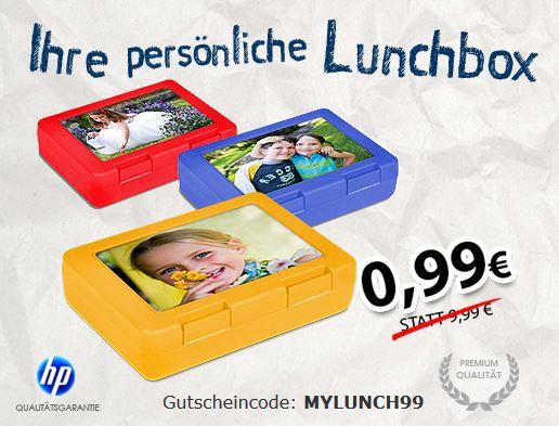 Lunchbox myprinting: Launchbox mit eigenem Lieblingsfoto oder Motiv für nur 99 Cent + VSK oder 50 Fotos 10x15 für 50Cent