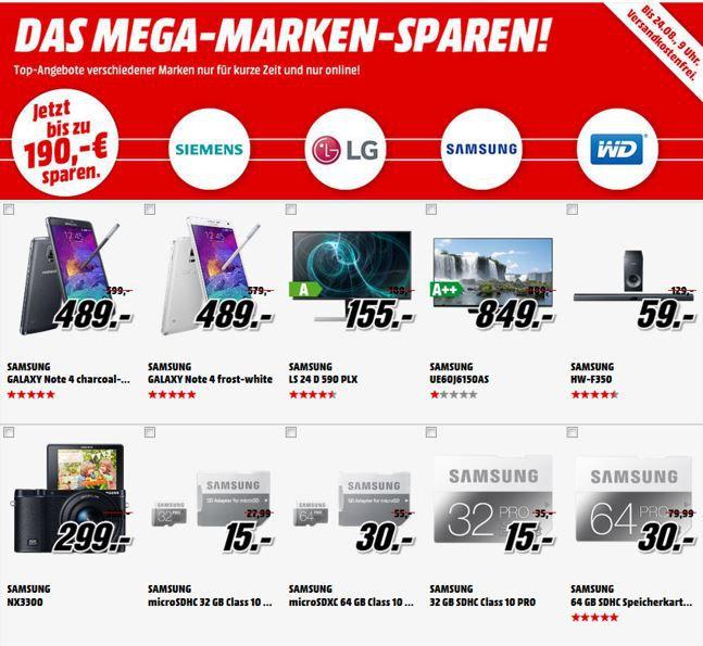 Marken Sparen LG BH7430PB Heimkinosystem statt 319 für 249€ im MediaMarkt: Das Mega Marken Sparen
