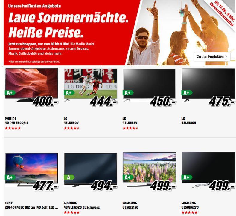 LG 47LB630V 47 Zoll smart TV für 444€ bei der Media Markt TV Aktion