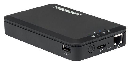Medion Life S89044 (MD 90216) 1TB WLAN Festplatte mit Powerbank Funktion für 69,90€