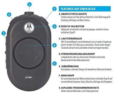 Preisfehler? Motorola CLP446 PMR statt 200€ für 47,27€