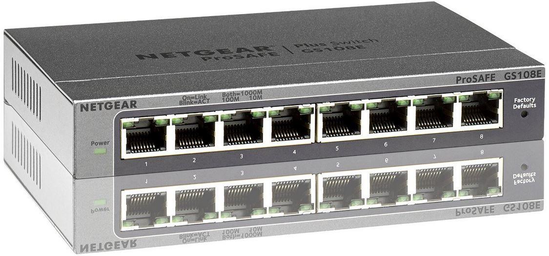 Netgear GS108E   8 Port Switch für nur 29,90€