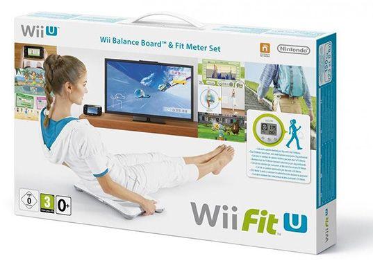 Nintendo Wii Fit U + Fit Meter + Wii Balance Board für 32,90€