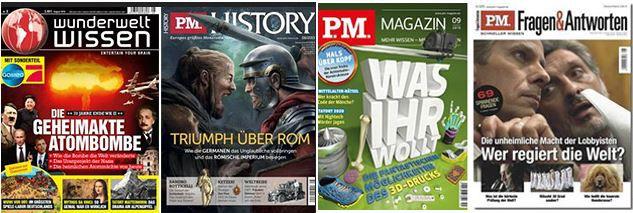 P.M. Magazine oder Wunderwelt Wissen Jahresabos mit Prämien