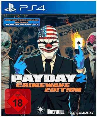 Payday 2 Payday 2   Crimewave Edition (PS4) ab 37,99€ für Saturn Selbstabholer