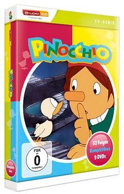 Pinocchio Komplettbox (9 DVDs) ab 27,97€