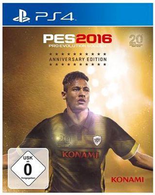 Pro Evolution Soccer 2016 (PS4) Anniversary Edition ab 47,98€ vorbestellen