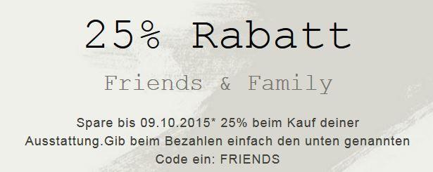 Reebok mit 25% extra Rabatt auf Alles + 50% SALE