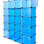 Kesser Kunststoffboxen Regalbauset mit 600 Litern für 26,82€ (statt 33€) bzw. 1.000 Litern für 44,82€ (statt 50€)