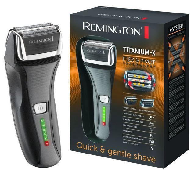 Remington Remington F 5800   Titanium X Herren Folienrasierer für 34,90€