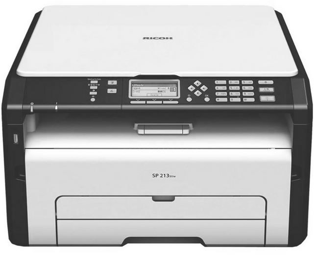 Ricoh SP 213SUW   3 in 1 WLAN mono Laserdrucker (1200 x 600 dpi) für 86,99€