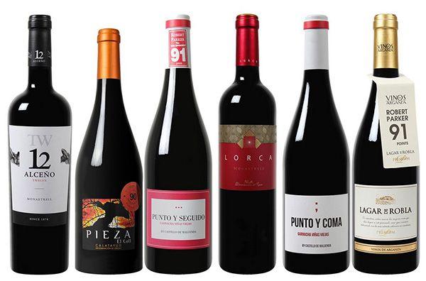 Exklusives Robert Parker Wein Paket mit 6 verschiedenen Flaschen für 39,99€