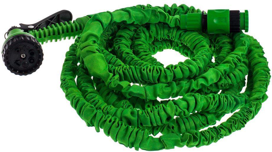 Tresko Flexibler Gartenschlauch bis max. 30m, grün für 12,99€ (statt 23€)