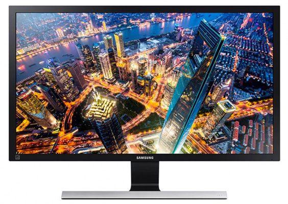 Samsung U28E590D   28 Zoll UHD Monitor mit TN Panel für 269€ (statt 344€)