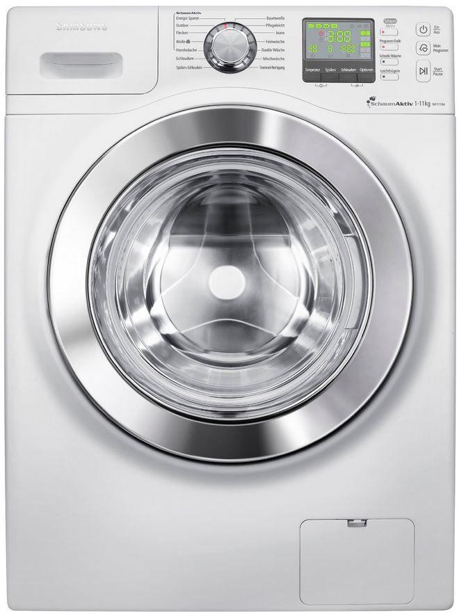 Samsung Waschmaschine Samsung WF71184ZBD/XEG   Frontlader Waschmaschine (11KG, 1400 U/min mit A+++) statt 779€ für 569€