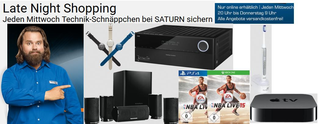 Saturn Late Night Angebote