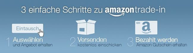 Amazon Trade In wird zum 31. August 2015 eingestellt