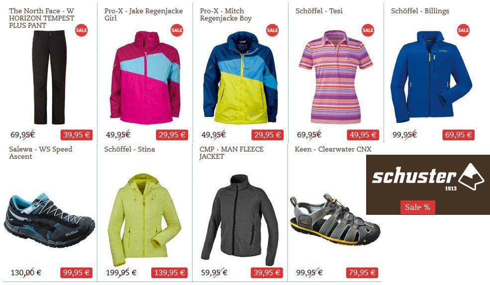 Schuster Sale Sport Schuster mit 30% Rabatt auf ausgewählte Sport Artikel   Damen Jacke Haglöfs   Bungy III für 119€