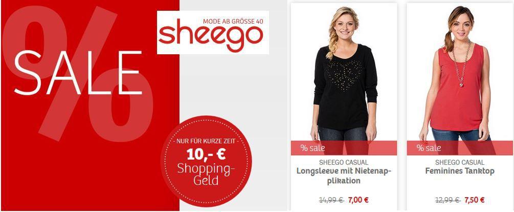 Sheego Rabatt Sheego   10€ Fashion auf Alles   auch Sale Ware (MBW nur 30€)   Update