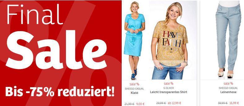 SHEEGO   20% Rabatt auf Damen Jeans & Hosen! ab 16.09.