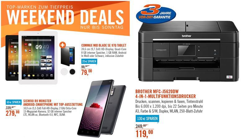 commax MID Blade SE 97Q   10 Zoll Tablet für nur 79€ bei den Cyberport Weekend Deals