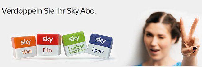 Die Sky Zweitkarte   mehr Pay TV für wenig Extra Kosten