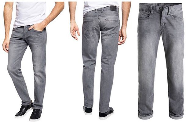Straight Leg Jeanshose Stone Washed edc by ESPRIT Herren Straight Leg Jeanshose Stone Washed ab 16,69€