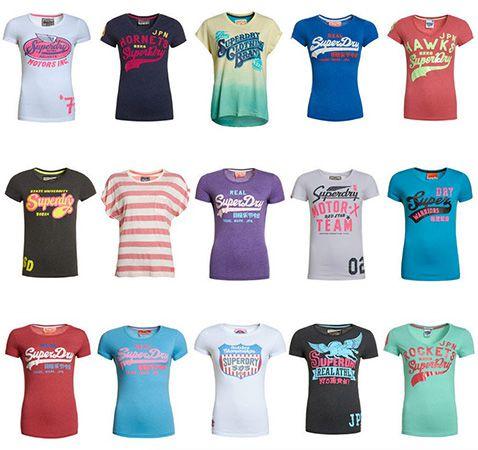 Superdry Damen Shirts B-Ware