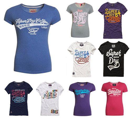 Superdry Damen Shirts