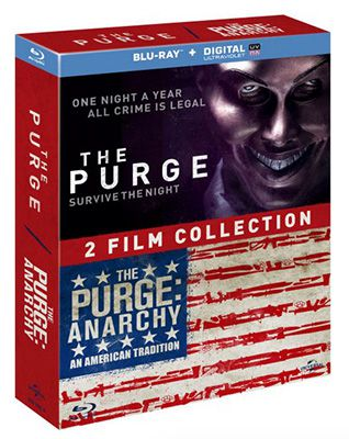 The Purge & The Purge: Anarchy Blu ray für 13,04€