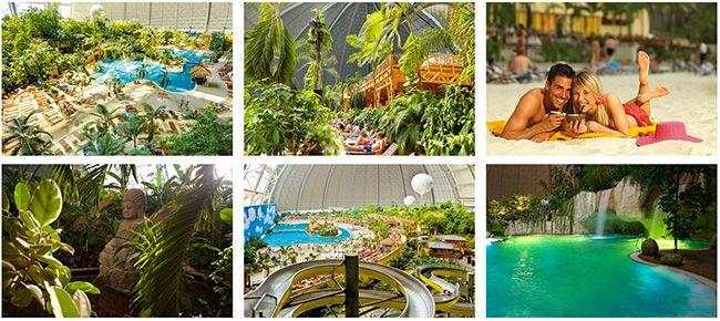 Tropical Islands Überblick 2 oder 3 Tage Tropical Islands im Familien  oder Premiumzimmer mit Frühstück ab 79€ p.P.