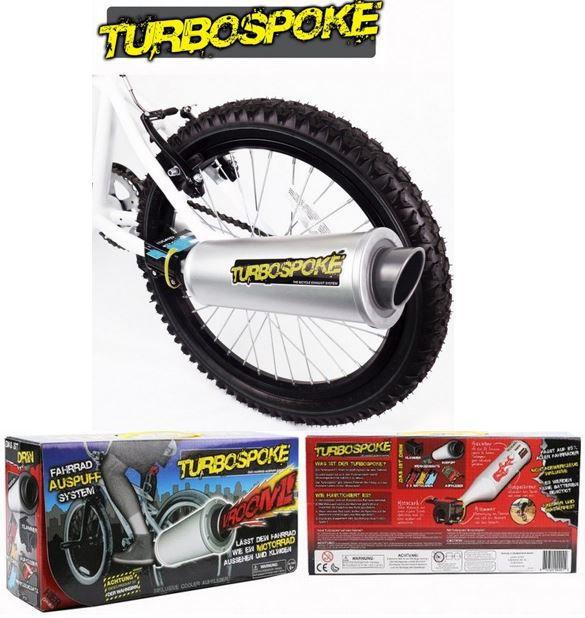 Turbospoke   Fahrrad Auspuff Komplettset für 14,99€