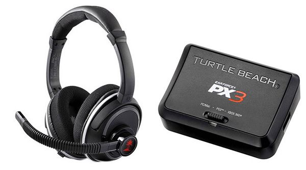 Turtle Beach EarForce PX3 für 64,90€   Headset für PS3, Xbox360, PC, MAC