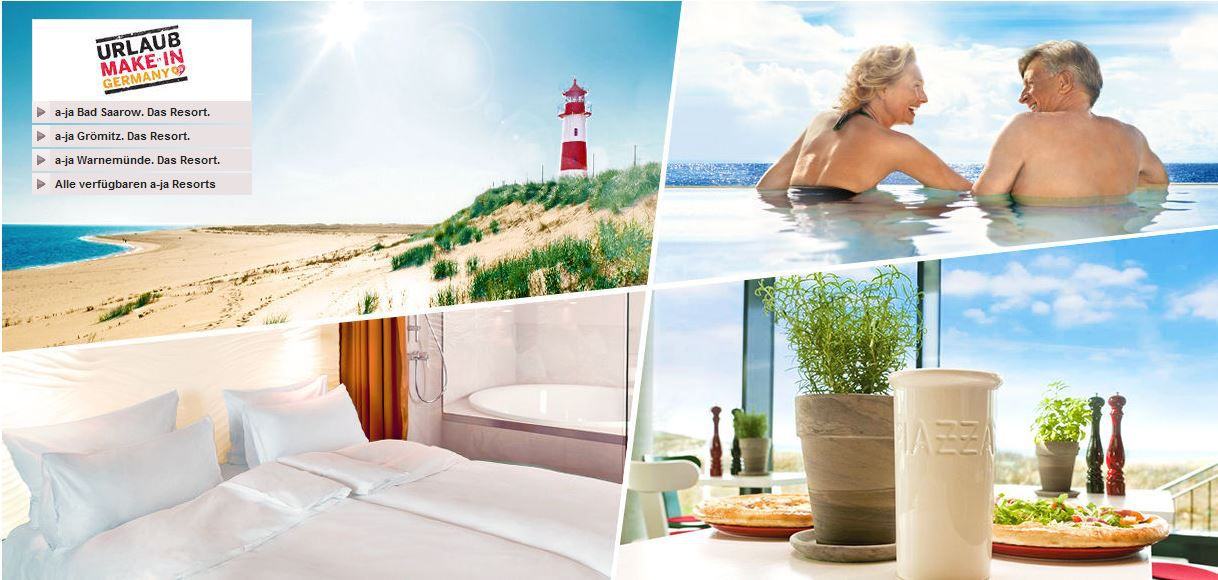 Urlaub Urlaub MAKE in Germany   Vente Privee Travel Aktion mit Rabatten bis zu 40%!