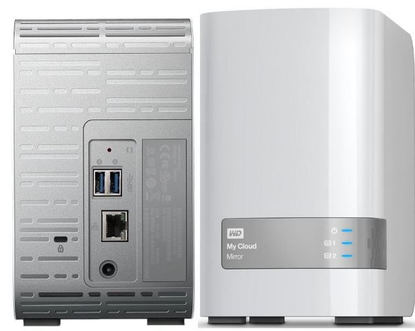 WD My Cloud Mirror WD My Cloud Mirror   12TB NAS statt 572€ für 479€
