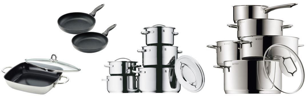 WMF und Silit Angebote @ Amazon: Silit Pfannen Set Allegro   2 teilig, 28cm + 24cm statt 55€ für 39,99€