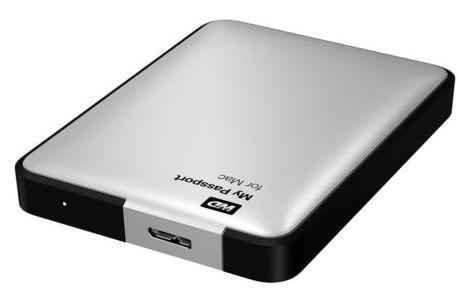 Western Digital My Passport für Mac externe Festplatte für 88€   2TB, 2,5 Zoll, USB 3.0
